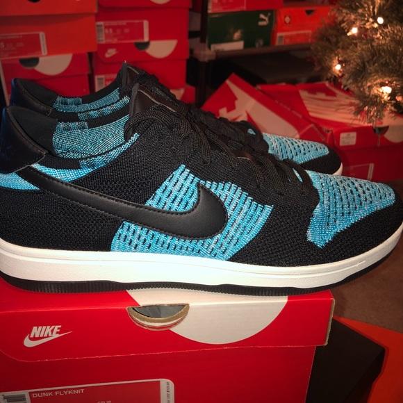a714beb2dd942a Nike Dunk Low Flyknit  Chlorine Blue